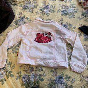 Hello Kitty Sequin Denim Jacket